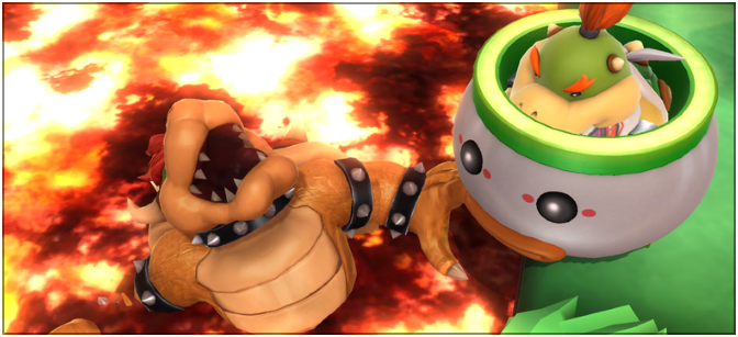 How to train a Bowser Jr. amiibo in Super Smash Bros. 4