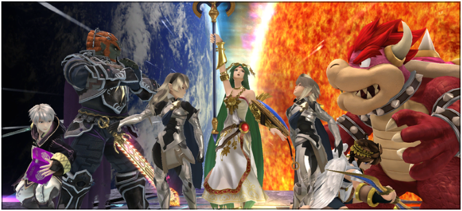 How to train a Corrin amiibo in Super Smash Bros. 4