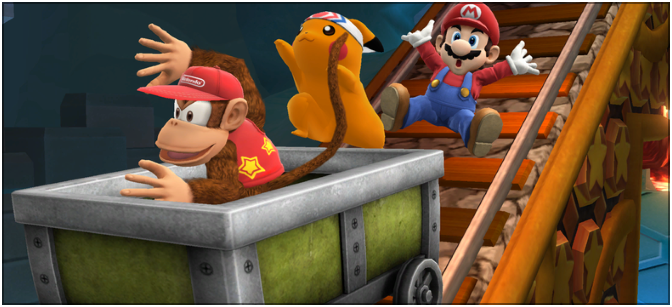 How to train a Diddy Kong amiibo in Super Smash Bros. 4